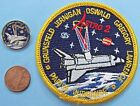NASA 3 PATCH  PIN PAIR vtg Space Shuttle ENDEAVOUR STS 67 Astro 2 Oswald