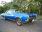 1967 Pontiac GTO 1976 Blue Coupe 4 Speed 4BBL Restored Muscle Car GTO Great Driver