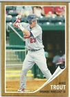 Mike Trout 2011 Topps Heritage Minors #44 Rookie Card