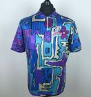 Vintage OBrian Li Tech Cycling Jersey Mens Size XL Short Sleeve 1 4 Zip Shirt