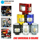 Universal Motorcycle Brake Clutch CNC Fluid Reservoir Tank Oil Cup With Bracket