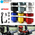 1x Motorcycle Front Brake Clutch Cylinder Fluid Reservoir Oil Tank Cup Universal