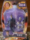 Doctor Who The 10th Doctor with 5 Adipose Figures Series 4 Action Figure Set