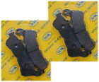 FRONT BRAKE PADS fit HONDA XL 1000 Non-ABS Varadero 2007-2009 XL1000V (D142 x2