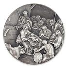 2016 2 oz 999 Silver Coin The Birth of Jesus Biblical Coin Series A493