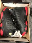 LikeNew Nike Air Jordan 13 Retro Dirty Bred Black Gym Red 414575 003 Size 3Y BP