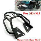 1 Set Motorcycle Armrest Rear Shelf Refitted Box Tail Fin Luggage Rack For M3/M5