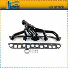 FOR 91 99 Stainless Header Exhaust Jeep Wrangler Cherokee 40L L6 TJ YJ XJ