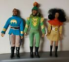 Vintage Mego Flash Gordon Lot Dale Ming Zarkov