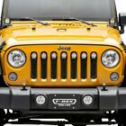 For Jeep Wrangler JK 18 Main Grille 1 Pc ZROADZ Series Black Laser Cut Main