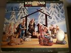 Kirkland Signature 13 PC Porcelain Nativity Set 75177 Excellent Condition
