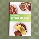 Weight Watchers POINTS PLUS What to Eat Booklet NoTracking Counting Great Info