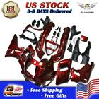 MS Fairing Kit Fit for Kawasaki 1993-2007 ZZR400 1998-2003 ZZR600 ABS Red w0tb