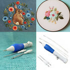 Embroidery Pen Needle Kit Magic Flower Stitch Punch DIY Weave Craft Sewing Tool