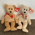 TY Beanie Babies New York Lot (2) Big Apple (2004) And New York (2003) Retired
