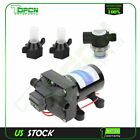 12V 30 GPM RV Water Pump 4008 101 A65 Revolution 55 PSI with Strainer New