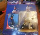1998 Starting Line Up Ken Griffey Jr Kenner Seattle Mariners New on Card