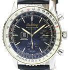 Polished BREITLING Navitimer Spatiographe Automatic Mens Watch A36030.1 BF511648