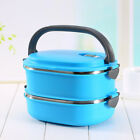 Multi Layer Stainless Steel Box Bento Thermal Insulated Food Container Boxes