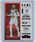 2017-18 Panini Contenders Game Ticket Parallel #60 Carmelo Anthony Non Auto Card