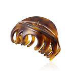 Large Chic Styling Hair Claw Clip Organic Glass Hair Clips Clamps