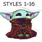 Baby Yoda Stickers The Mandalorian Stickers CHOOSE 1 GET 1 FREE Styles 01 16