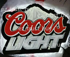 New Coors Light Mountain Beer Lager LED 3D Neon Sign 14