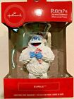 Hallmark Rudolph Bumble Abominable Snowmonster Christmas Ornament Candy Cane Hat
