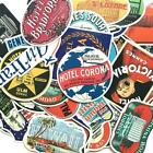 55pcs Set Vintage Old Fashioned Style Luggage Suitcase Travel Stickers Rand A1X1