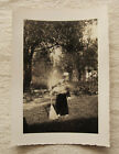 Vintage PhotoLittle Witch GirlHalloween costumemagic1940sABSTRACTerror