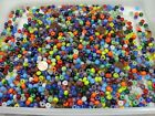 4 Pounds Assorted Color 6mm x 9mm Glass Pony Beads India Bulk Lot Sale NBW 7