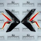 HONDA CRF CRF250 CRF250L -F FRONT FAIRING PANEL PAIR + DECALS BLACK RED 2012 - 2