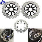 Front Rear Brake Disc Rotors Ducati Sport SuperSport 750 900 1000 ST2 ST3 ST4 S