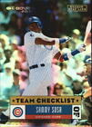 Sammy Sosa Cards, Rookie Cards and Autographed Memorabilia Guide 13