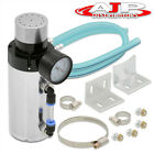 For Mazda Engine Hardware Hose Breather Oil Filter Can Tank Tank Gauge Silver