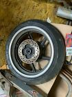 95-98 HONDA CBR600 CBR 600 F3 REAR BACK OEM WHEEL RIM W/ SPROCKET AND ROTOR