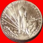 1988 Space Shuttle Discovery 5 Commemo Coin Rep Marshall Is Gem Unc ROTATED
