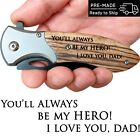 Fathers Day Gift from Daughter or Son Engraved Pocket Knife for Beloved Dad