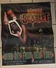 Ultra Rare Poster Of Richie Scarlet's Incredible Record Wise Guy From New York