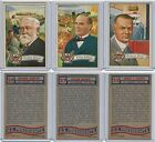 1956 Topps US Presidents Trading Cards 20