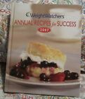WEIGHT WATCHERS ANNUAL RECIPES FOR SUCCESS 2007 HARDCOVER COOKBOOK