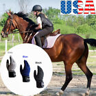 Horse Riding Gloves Kids Boy Girl Equestrian Ride Youth Summer Comfortable Grip