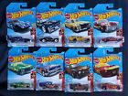 HOT WHEELS  FLAMES SERIES LOT 10 CHEVELLE CHARGER MUSTANG COUGAR CHEVY SHELBY