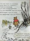 Winnie the pooh  Piglet 11x17 Quote Poster Free Shipping