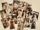 Vintage Style Die Cuts Gift Tags Edwardian Ladies Victorian Photos Journals 20pc