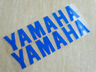 Blue 20cm Tank Fairing Fender Badge Emblems Decal Sticker For Yamaha Motorcycles