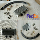Motorcycle Dirt Bike High Performance Oil Cooler Radiator Kit Refit Accessories