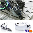 Chrome Stainless Steel Motorbike Wheel Anti-theft Brake Disk Lock Security Alarm
