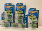 Lot Of 9 Hot Wheels 2017 HW City Screen Time THE JETSONS Car Green 25 57