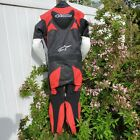 Like New Alpinestars Trigger Leather One Piece Motorcycle Suit EU50 US40 Size